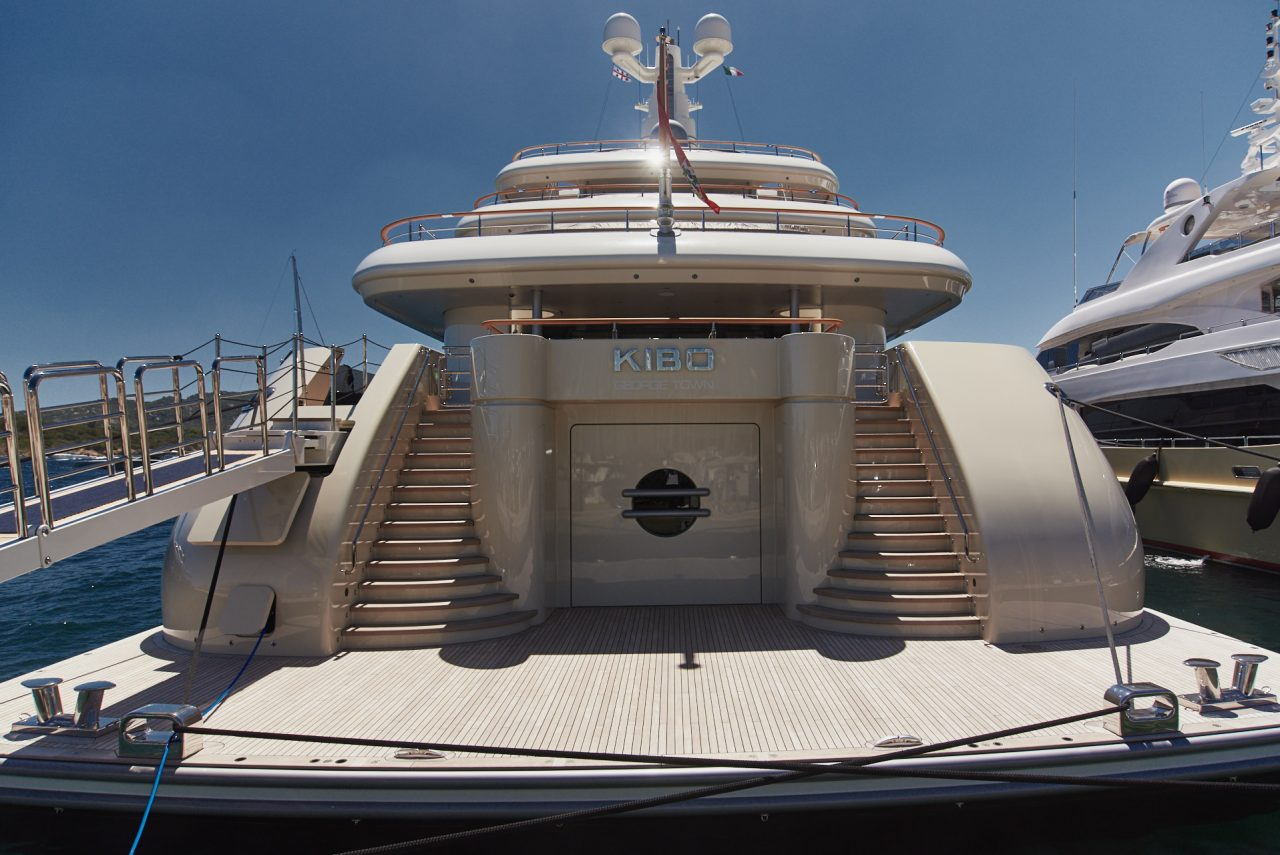 Kibo Super Yacht Photographed By Lucian Niculescu