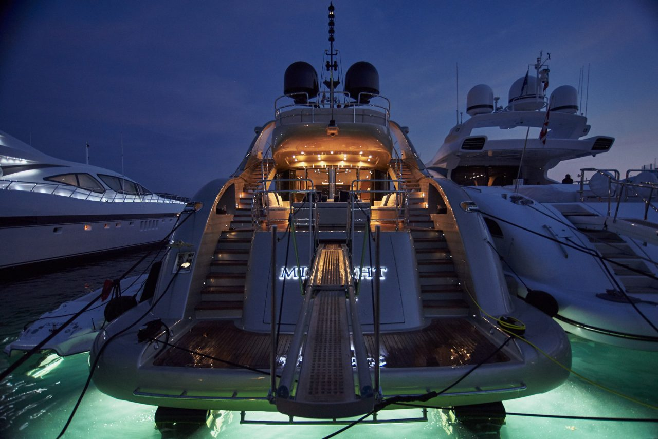 Midnight Sun Super Yacht Photographed By Lucian Niculescu