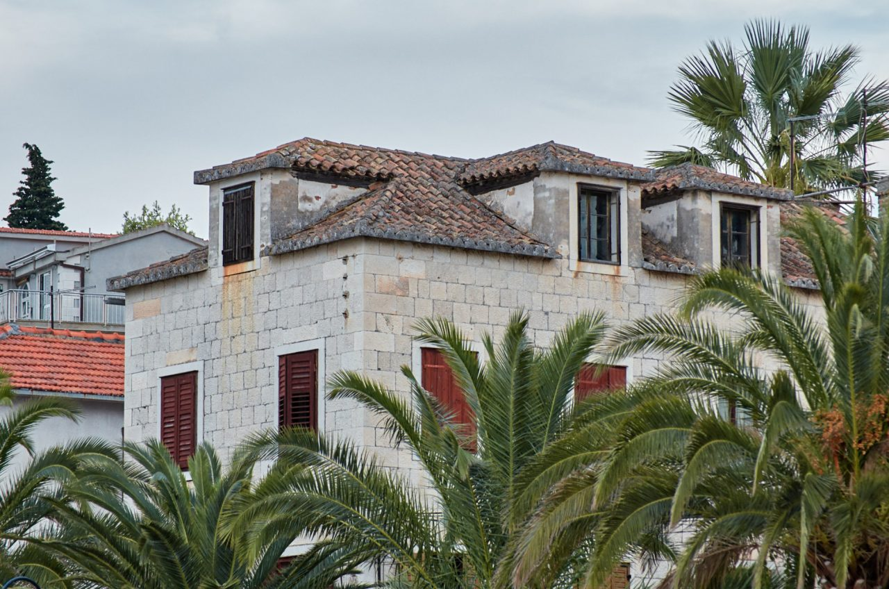 Old house in Vis Island