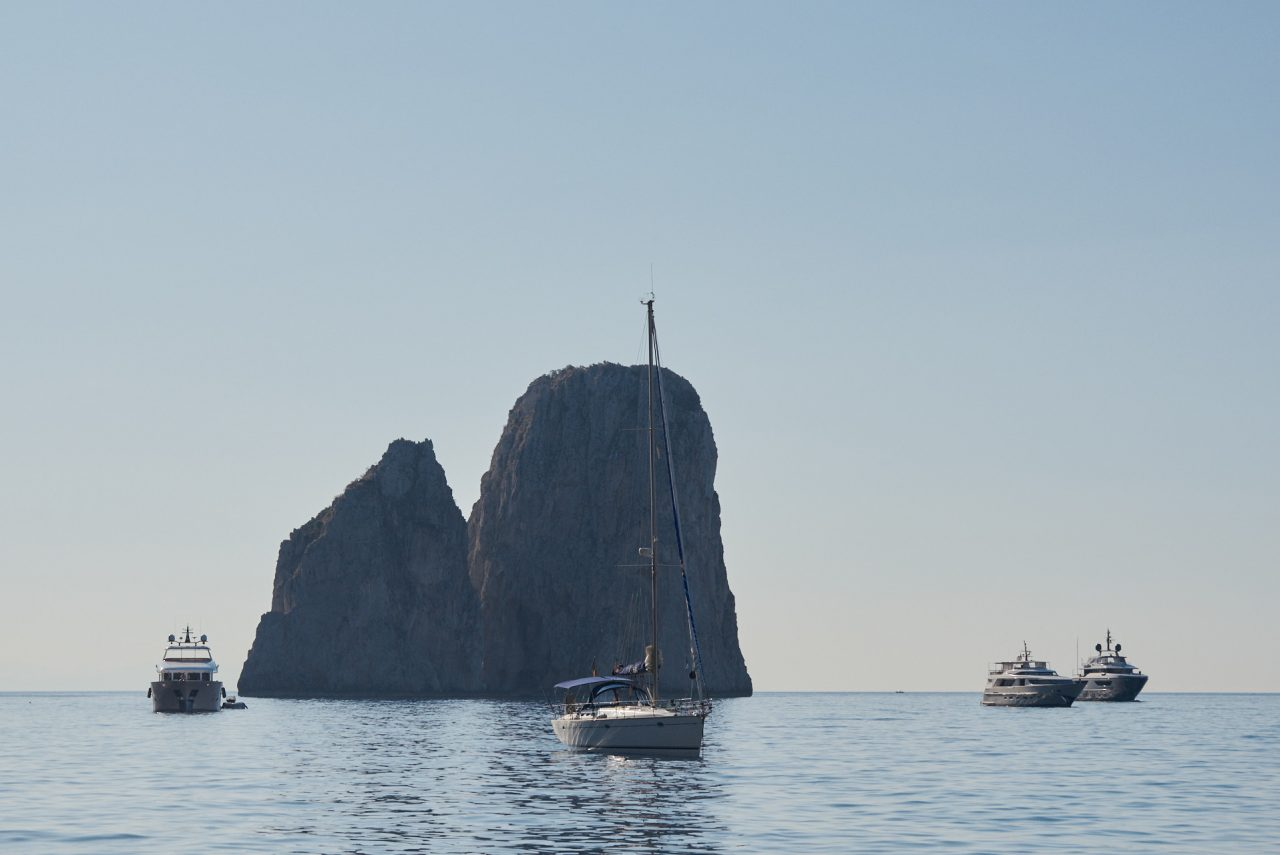 Island of Capri Italy Photographed by Lucian Niculescu